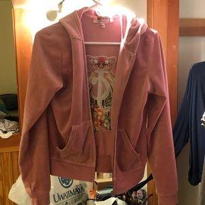 juicy zip up hoodie